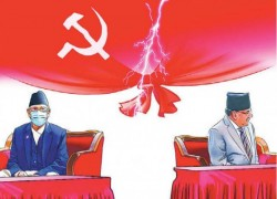 Nepal: Ruling party crisis deepens once again, both sides in wait & watch mode