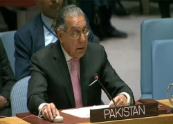 INDIA DOESN'T QUALIFY FOR UNSC MEMBERSHIP, PAKISTAN SAYS IN GENERAL ASSEMBLY DEBATE