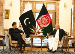 US 'PLEASED' TO SEE PM IMRAN VISITING KABUL