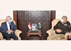 EGYPT LAUDS PAKISTAN'S EFFORTS FOR REGIONAL PEACE AND STABILITY