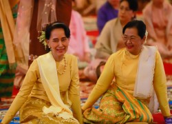 Former First Lady is tipped to become Myanmar's first female President