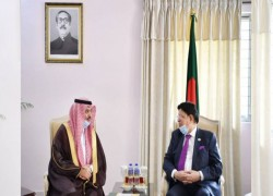 SAUDI PRIVATE, PUBLIC SECTORS KEEN TO INVEST IN BANGLADESH: ENVOY