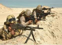 Six-nation joint military exercise starts in Egypt