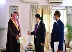 SAUDI CROWN PRINCE SALMAN INVITED TO JOIN MUJIB BORSHO CELEBRATION