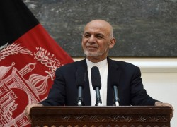 GHANI SAYS AFGHANISTAN WANTS CONNECTIVITY, NOT CHARITY