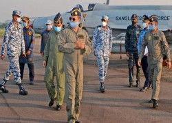 Bangladesh Air Force holds air defence exercise
