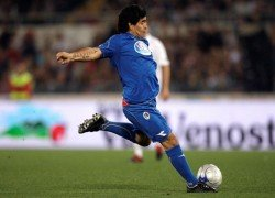 Maradona flew and fell. It is why we loved him