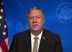 POMPEO DEFENDS TRUMP'S AFGHANISTAN WITHDRAWAL PLAN