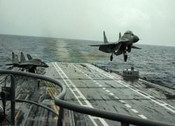 Indian Navy's MiG 29K jet crashes into Arabian sea, pilot missing