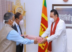 SRI LANKA CALLS ON INDIA TO FOCUS ON THE SOUTH LIKE THE NORTH