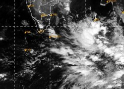 ANOTHER CYCLONE DEVELOPING NEAR SRI LANKA