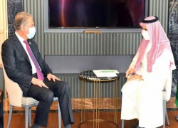 QURESHI MEETS SAUDI COUNTERPART AMID KEY REGIONAL DEVELOPMENTS