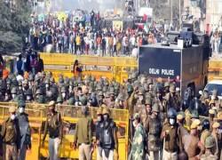 DELHI-NOIDA BORDER CLOSED DUE TO FARMERS' PROTEST