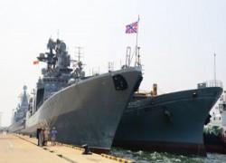 THREE RUSSIAN WARSHIPS, INCLUDING ANTI-SUBMARINE SHIP IN SRI LANKA