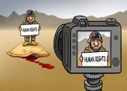 Afghans embrace China's humanitarian cartoon, demand Aussie justice