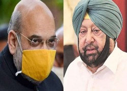 AMIT SHAH, PUNJAB CHIEF MINISTER TO MEET TODAY, AHEAD OF TALKS WITH FARMERS