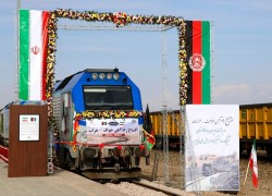 Iran, Afghanistan open first rail link with eye on trade