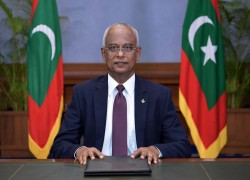 Maldives targets to reach net-zero by 2030, says President Solih