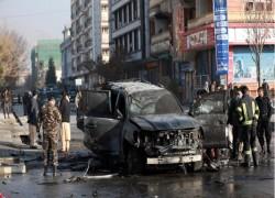 Bomb and gun attacks in Afghan capital kill three