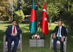 TURKISH FOREIGN MINISTER TO VISIT BANGLADESH TODAY