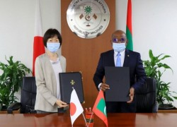 Maldives, Japan sign exchange of notes on G-20 debt suspension initiative