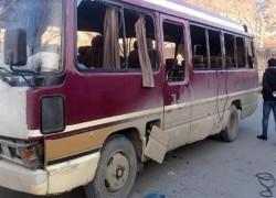BLAST TARGETS GOVT EMPLOYEES' BUS IN KABUL