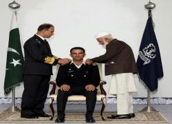 CRICKETER FAKHAR ZAMAN AWARDED HONORARY RANK OF LIEUTENANT BY PAKISTAN NAVY