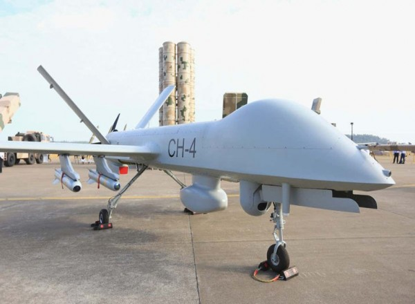 Pakistan takes delivery of CH-4 drones from China