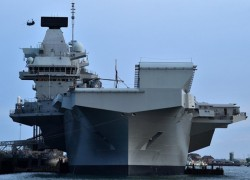 China blasts Nato with British aircraft carrier 'heading to South China Sea'