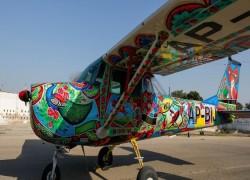 পাকিস্তানের 'ট্রাক আর্ট' এখন আকাশে উড়বে