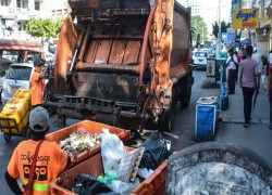 Trash pickup takes a quantum spin in Myanmar's biggest city