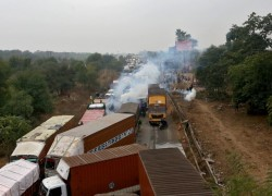 Tractors to Twitter: India's protesting farmers battle on highway, online