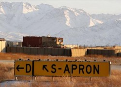 US LEAVES LOGAR'S 'FOB SHANK,' ONCE HOME TO 18K TROOPS