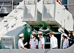 Myanmar navy's quick march