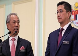 MALAYSIA'S MUHYIDDIN BRACES FOR ELECTION WITH COVID SHOTS IN SIGHT