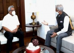 To counter China, Indian foreign minister seeks greater economic cooperation with Sri Lanka