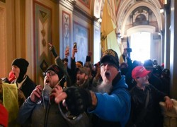 American carnage: how Trump's footsoldiers ran riot in the Capitol