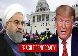 ROUHANI SAYS WESTERN DEMOCRACY 'FRAGILE, VULNERABLE' AFTER CHAOS AT US CAPITOL