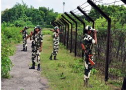 70% of the 443 km India-Bangladesh border in Meghalaya fenced, says the BSF
