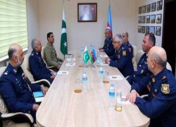 Pakistan and Azerbaijan air force chiefs vow to strengthen defense ties