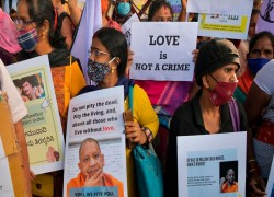 Battle over India's 'love jihad' laws continues