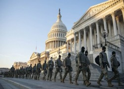 20,000 SOLDIERS AT US CAPITOL. NO, IT ISN'T CIVIL WAR, BUT THE TRUMP EFFECT