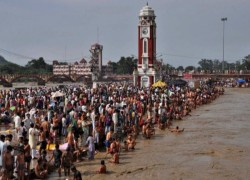 INDIA HOLDS MASSIVE 'KUMBH MELA' FESTIVAL AMID COVID WORRIES