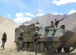 China holds military drill near friction point with India's Ladakh region