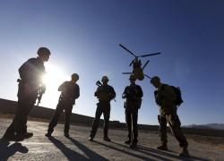 US has dropped to 2,500 troops in Afghanistan, says Pentagon