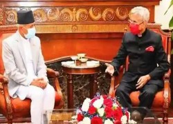 "Indian and Nepalese foreign ministers discussed ""border management"""