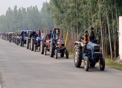 In Punjab, farmers conduct 'rehearsal' ahead of 'Republic Day tractor march'