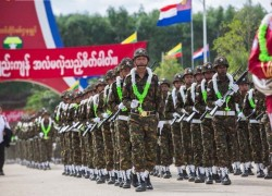 Karen border force withdraws resignations after spat with Myanmar military