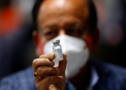 INDIA'S HOMEGROWN COVID VACCINE COMPANY WARNS SOME TO AVOID SHOT