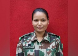 Radhika Thapa becomes Nepal's first female soldier to complete counter insurgency training